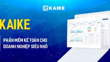 Ra mắt KaiKe – phần mềm kế toán cho doanh nghiệp siêu nhỏ