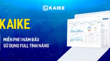 Phần mềm quản lý kế toán Kaike miễn phí sử dụng 1 năm full tính năng