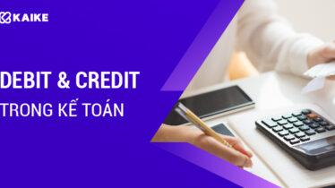 debit và credit trong kế toán